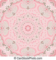 Cute pink Seamless abstract tiled pattern vector web background