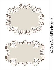 collection of decorative frame pattern