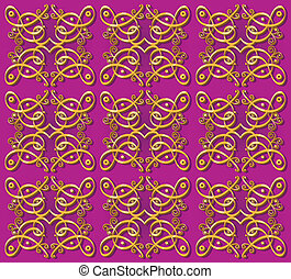 decorative oriental wallpaper background