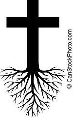 deep rooted cross