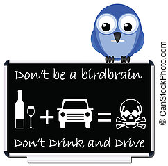 drink and drive message