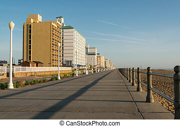 Early Morning on Virginia Beach