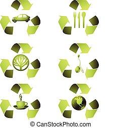 Ecological Icon Set