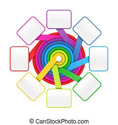 Eight elements circle