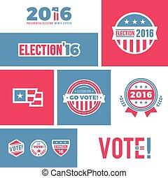 Election 2016 graphics