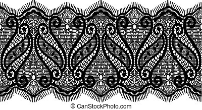 embroidered lace design