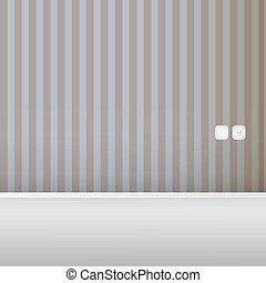 Empty vintage wall