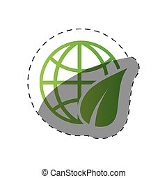 environment globe world design