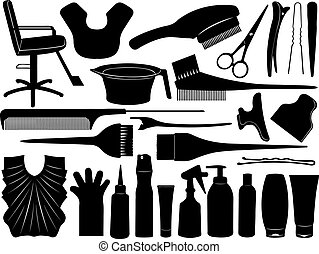 Equipment for hair dyeing
