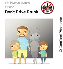 Family campaign mommy don't drive drunk