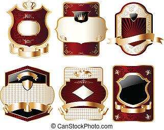 Fancy Gold Label Set