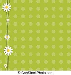 Flora Daisyl Design Vector Illustartion
