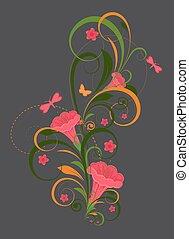 Flourish Design Vector Elements