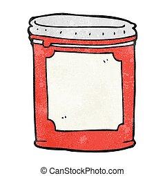 textured cartoon jam