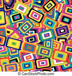 Geometric background with rectangles