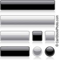 Glossy Web Buttons