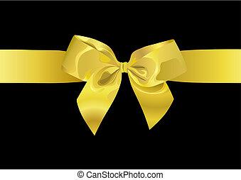 Golden Ribbon (vector)