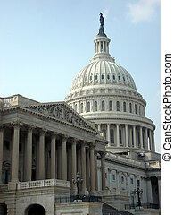 Government and Capitol Dome in Washington DC