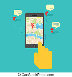 GPS service on Mobile Phone