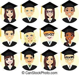 Graduation Student Avatar Collection