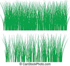 grass vector outline silhouette