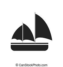 gray sailing travel maritime