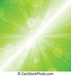 Green blur - vector abstract backgr