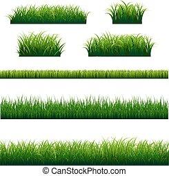 Green Grass Frame Big Set