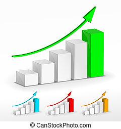 Growth graph set