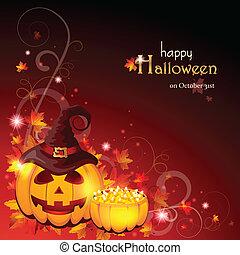Halloween Background - EPS 10