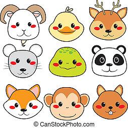 Happy Animal Faces