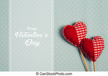 Happy Valentines day and heart.