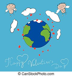 Happy Valentines day Cupid