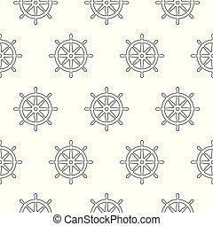 helm seamless pattern anchor vector pirate ship boat maritime nautical sea ocean