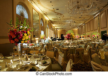 a high end wedding banquet hall