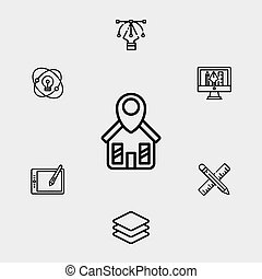 Home vector icon sign symbol
