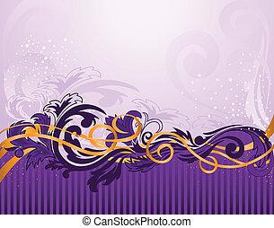 horizontal purple pattern with stripes