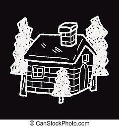 house doodle