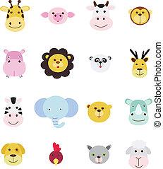 icon set animal