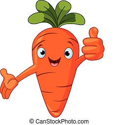 Illustration of a Tomato Character giving thumbs up