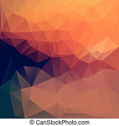 Illustration of colored triangle abstract background.