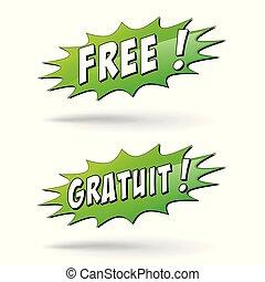 free burst with french translation