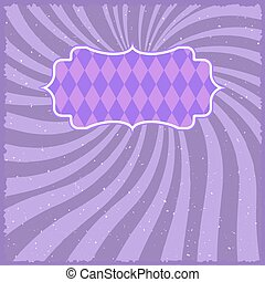 Vintage Carnival Circus Background