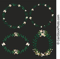 wreath of floral
