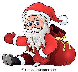 Image with Santa Claus theme 1