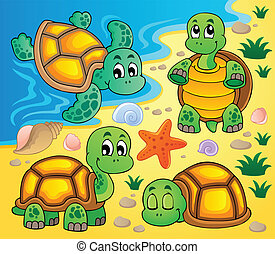 Image with turtle theme 2