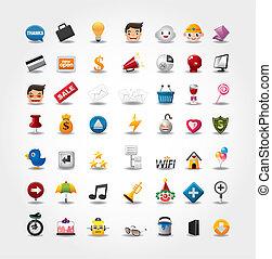 Internet & Website icons, Web Icons, icons Set