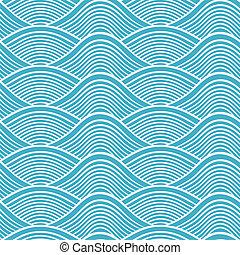 japanese seamless ocean wave patter