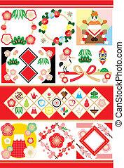 Japanese style illustrations