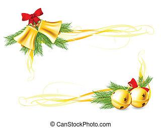 Jingle Bells and Christmas decorat